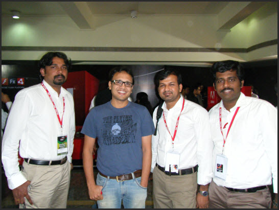 Hemanth And Our Team