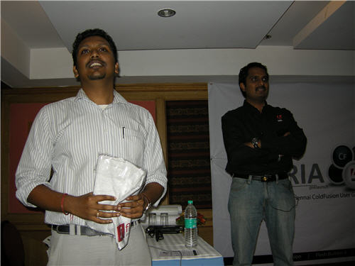 Manju Kiran and Raghunath Thircovil