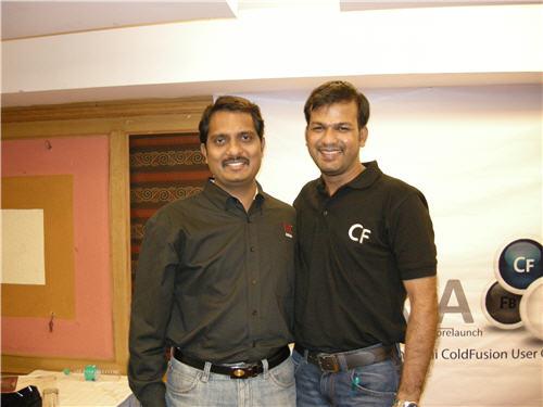 Me and Manju Kiran