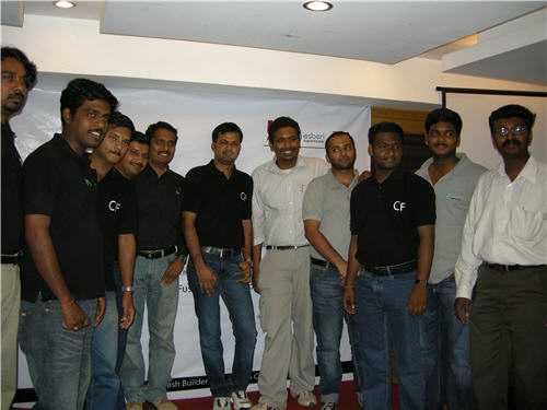 Chennai CFUG Team with Manju and Raghu